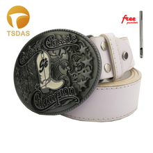 Cowboy Champion Classic Boots Belt buckle Men and Women Fashion Jeans accessories Buckle With