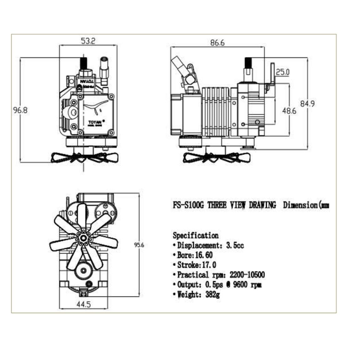 Quatre temps méthanol modèle moteur (sans démarrage moteur) vapeur éducation bricolage modèle jouet cadeau pour enfants artisanat ornement FS S100-in Kits de construction from Jeux et loisirs    2