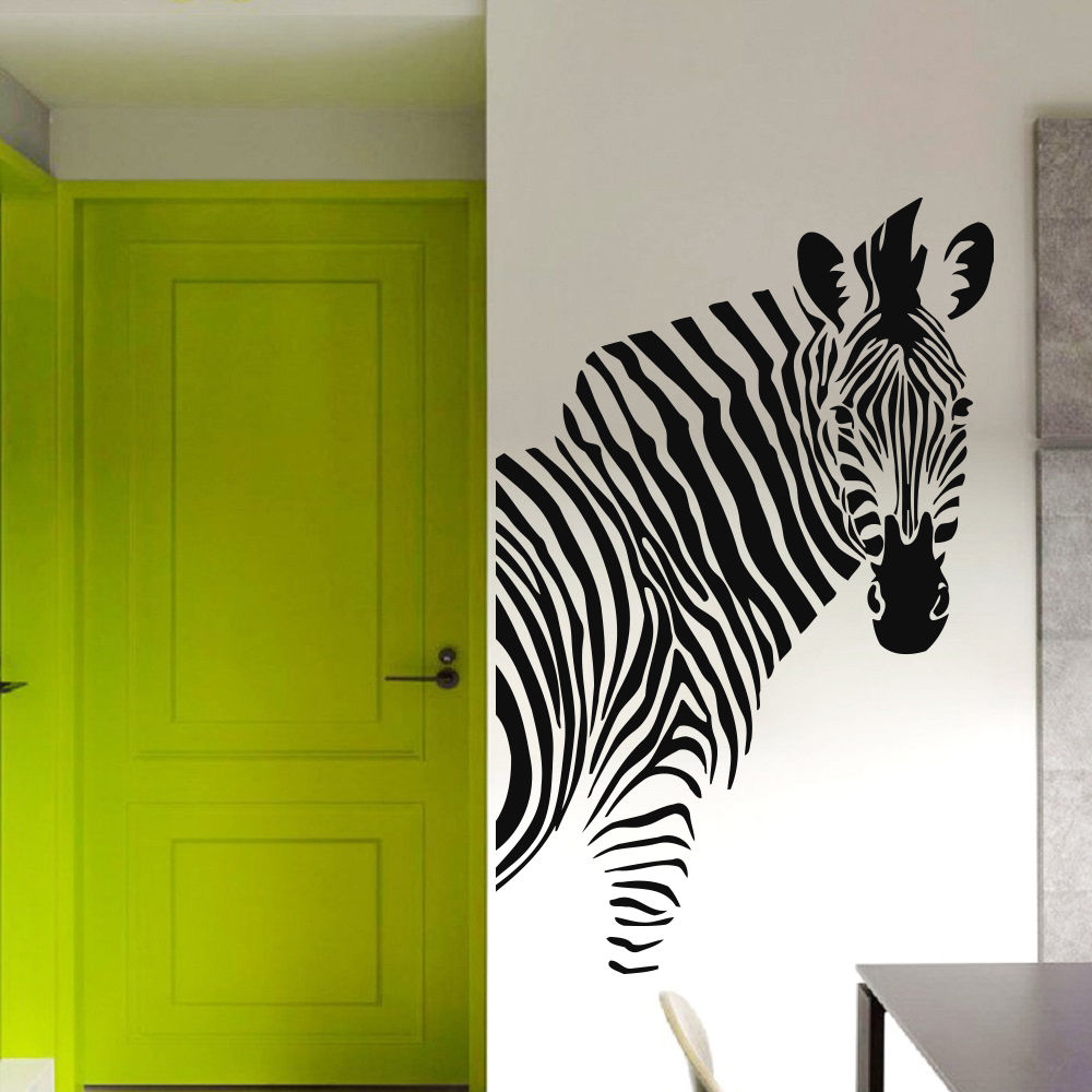 zebra decal wall decals nursery african home decor bedroom 17905 | zebra decal wall decals nursery african home decor bedroom vinyl sticker