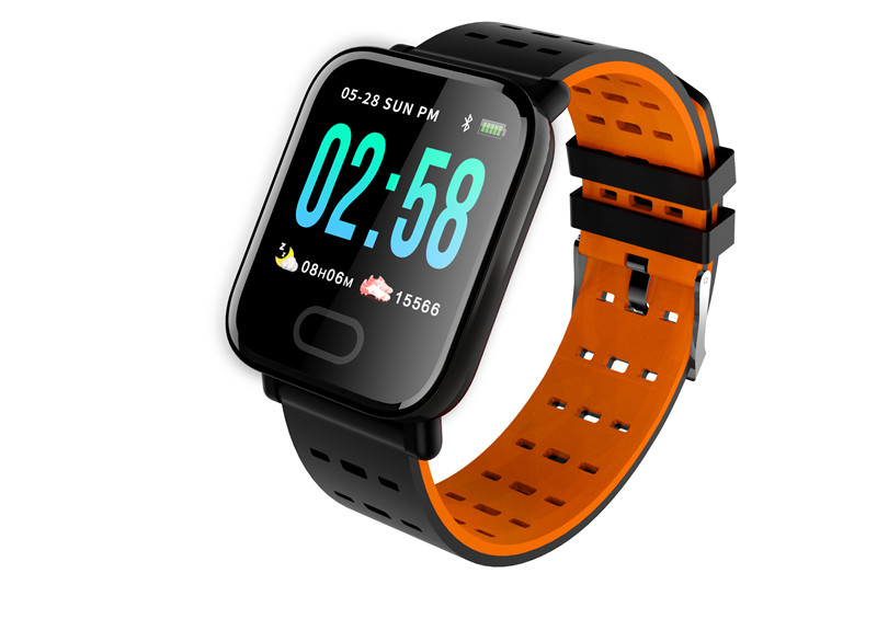 mafam A6 Smart Watch Heart Rate Monitor Sport Fitness Tracker Sleep Monitor blood pressure Waterproof Sport Watch Band for IOS Android (25)