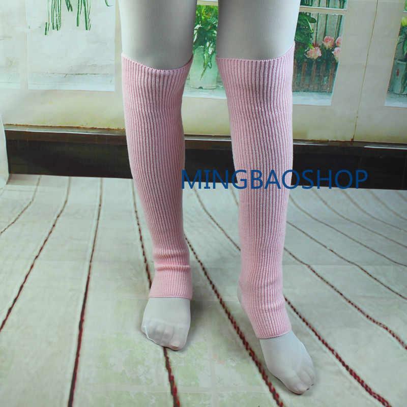Calentadores de piernas para mujeres y niñas, calentadores de piernas de punto, polainas de Ballet para danza, calcetines de bota, calentadores de piernas de ganchillo, calentadores de piernas de punto