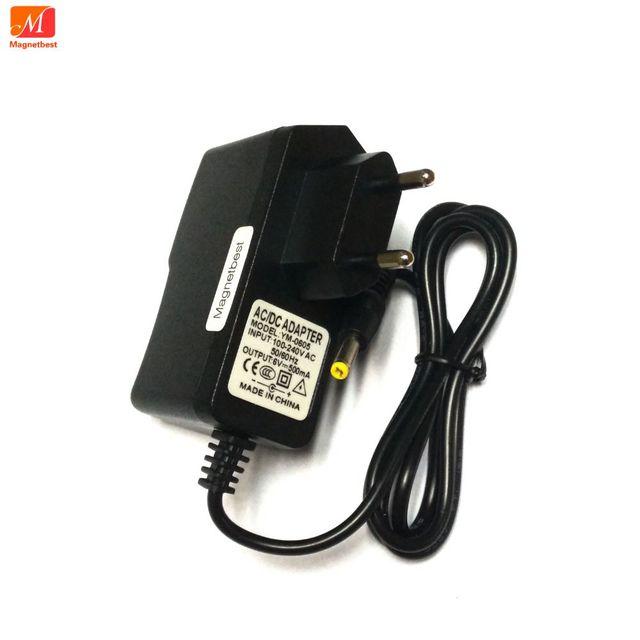 6 V 500mA 0.5A AC DC Adapter ładowarka dla OMRON I C10 M4 I M2 M3 M5 I M7 M10 M6 komfort M6W monitor ciśnienia krwi zasilania