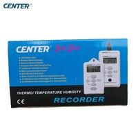 Центр 340 Водонепроницаемый Температура регистратор данных с 64000 записей
