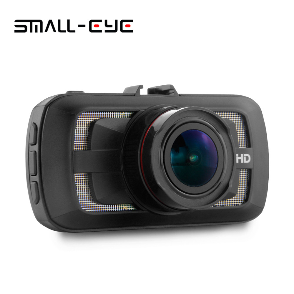 Small-eye Car Camera Ambarella A12 Car DVR Video Recorder 170 Degree 2560*1440P Cam GPS Logger G-Sensor HDR H.264 Night Vison dealcoo car dvr ambarella a7l50 car video recorder dash cam full hd 1296p 30fps 2 7 lcd g sensor hdr h 264 car camera gps gs90a