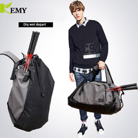 KEMY Men Multifunction Travel Bag 2018 New Cabin Luggage Men Travel Bags Large Capacity Backpack Canvas Casual Duffle Bag