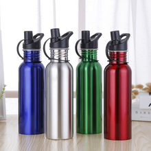 New stainless steel Water Bottles soda bottle plastic cover outdoor sports Bestsellers Water Bottle sale 3 cheap Adults Eco-Friendly Direct Drinking TOUR Not Equipped Thermal Insulation In-Stock Items With Lid Applicable 2 5cm Stainless steel 201