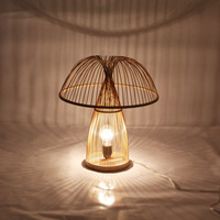 Modern LED Table Lights Bamboo Desk Lamp Modern Led Table Lamp Wood Reading Bedroom Study Luminaria Home Table Lighting AL016