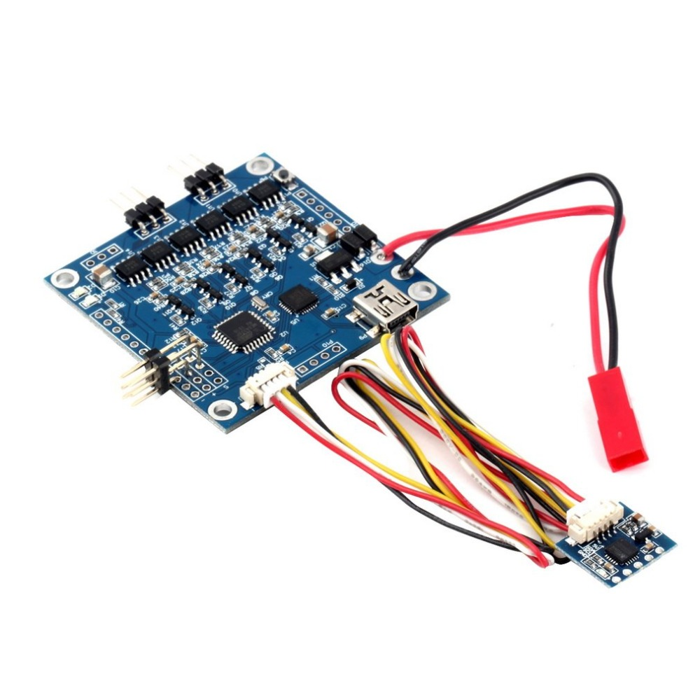 2 Axis BGC MOS 3.0 Large Current Brushless Gimbal Controller With Sensor Board Driver Alexmos Transducer Simple BGC Two-axis free shipping 2 pcs lot emax gb4114 42kv brushless motor kv42 for 2 axis bgc brushless camera gimbal remote control airplane