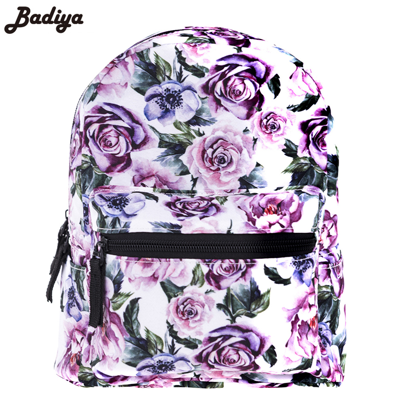 2018 Spring 3D Printing Girls Backpack New Mini Oxford School Bags Women Travel Bag For Teenager Casual Bag