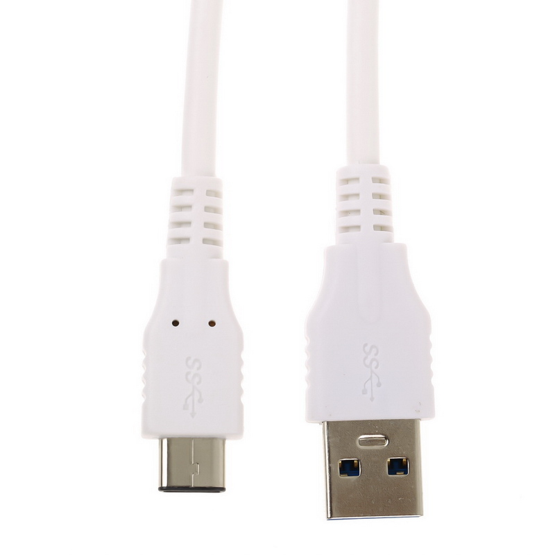 USB3.0 C-TYPE Charger Cable Data Transfer Charging Cord Line 1m White free shipping new usb data sync charger transfer cable 3 5mm jack adapter charging cord for ipod shuffle 3rd 4th gen