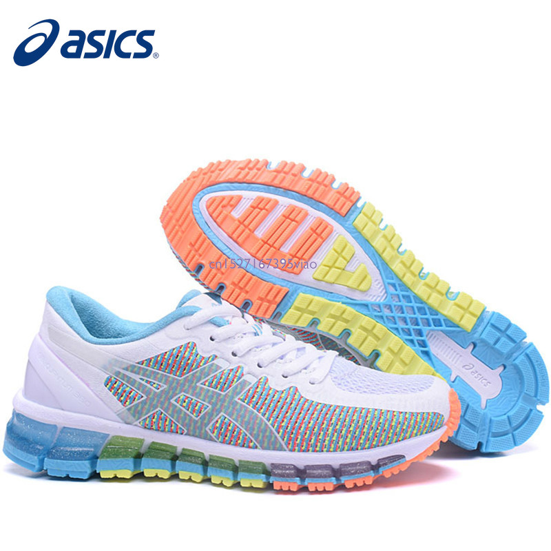 2019 Asics Gel Quantum 360 Official Woman's Sneakers Athletic Shoes Breathable Stable Running Outdoor Tennis Shoes Free Shipping