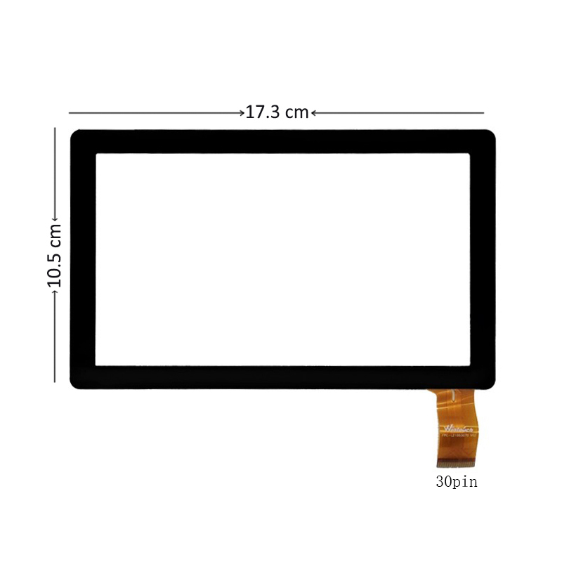 все цены на  New 7 inch Touch Screen Digitizer Glass For Wexler Tab 7100 Prtablet PC Free shipping  онлайн
