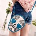 Free shipping / 2015 new / fashion leisure handbag / skull / purse /  diagonal bag / Messenger bag / stylish elegance