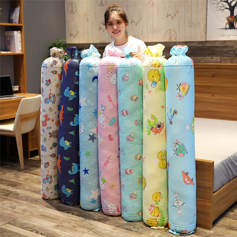 Lovely New 20Kinds Of Long Large Cotton Pillow Candy Cylinder Waist Pillow Cervical Pillow Nap Couch Bed Sleeping Cushion