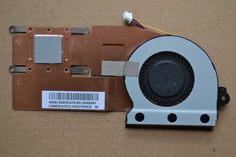 New Laptop Cpu Cooling Fan With Heatsink For ASUS S200 X202 S200E  X202E Q200E