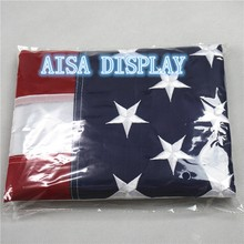 wholesale 200pcs by DHL 3ft x 5ft. American with Embroidered Stars and Sewn Stripes american flags