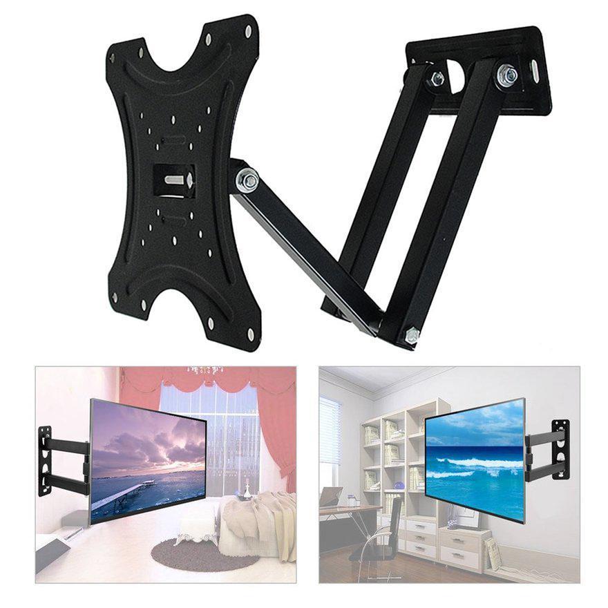 Réglable général un fixe LED LCD TV 200 200mm ordinateur mur 30kg 6.5-145 cm/2.6-57.1 pouces support de montage