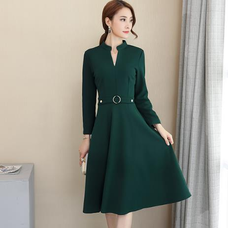Clobee Women Dress 2018 Elegant Women Wear Plus Size Spring Dress