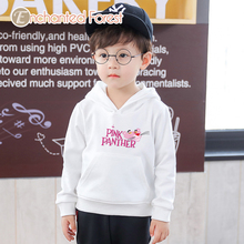 Children's hoodies Spring and autumn Fashion baby girl clothes Boy cotton cartoon letter embroidery top hoodies for girls Unisex