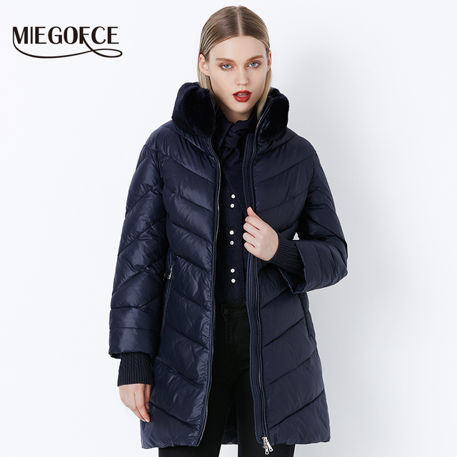 Winter Women's Parka Collection Windproof Women's Thick Coat
