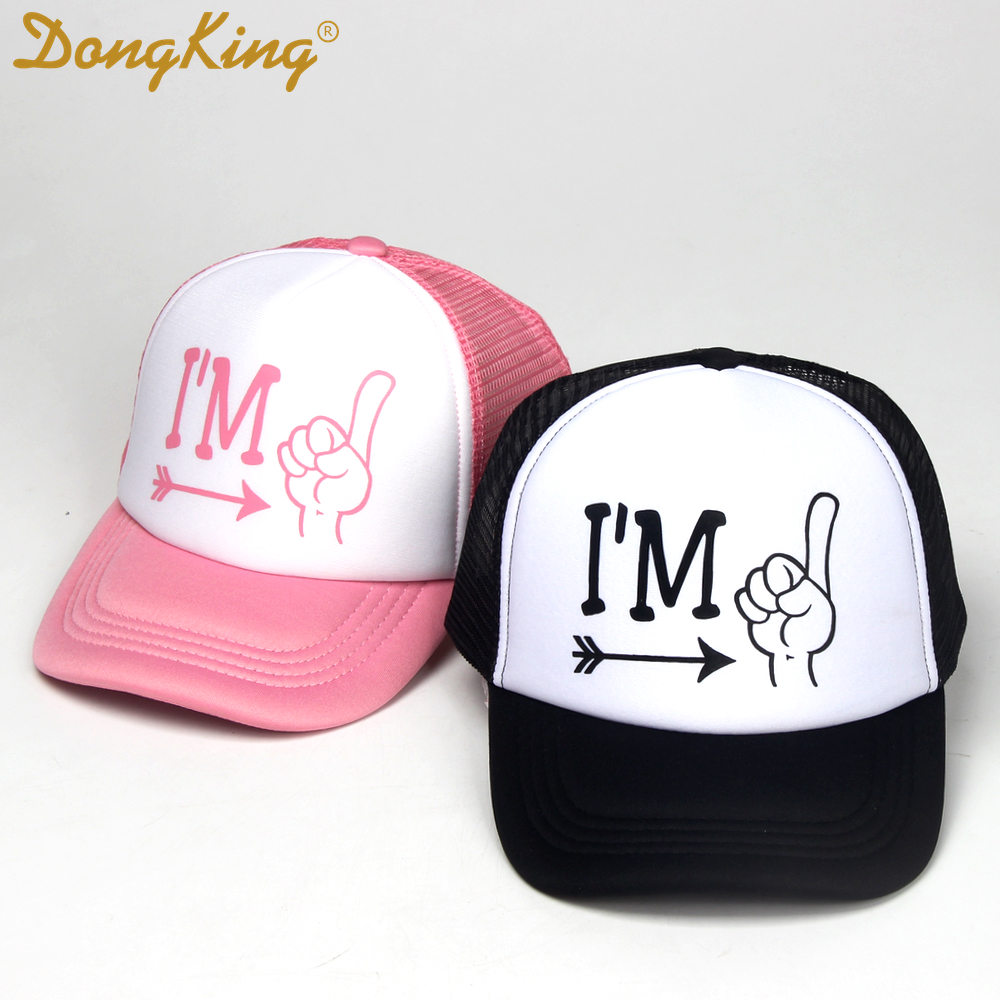 DongKing Kids Birthday Trucker Hat Two Cool Baby Caps Hats 2 Years Old
