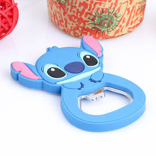 cartoon multifunction silicone Stainless Steel bottle Cat opener beer fridge openers kitchen tools(China)