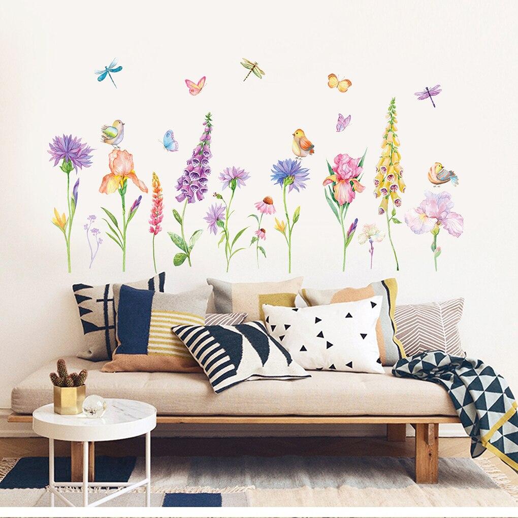 New Style 60x90cm Flowers Blossom Patterns Children Room