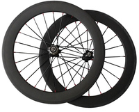20 Carbon Fiber Wheels Bmx Small Wheels Bicycle 451
