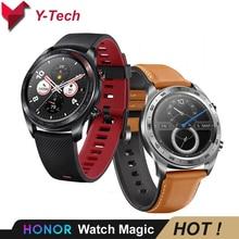 Huawei 社の名誉腕時計スマート腕時計 NFC GPS 5ATM 防水心拍数トラッカー睡眠トラッカー 7 日メッセージリマインダー