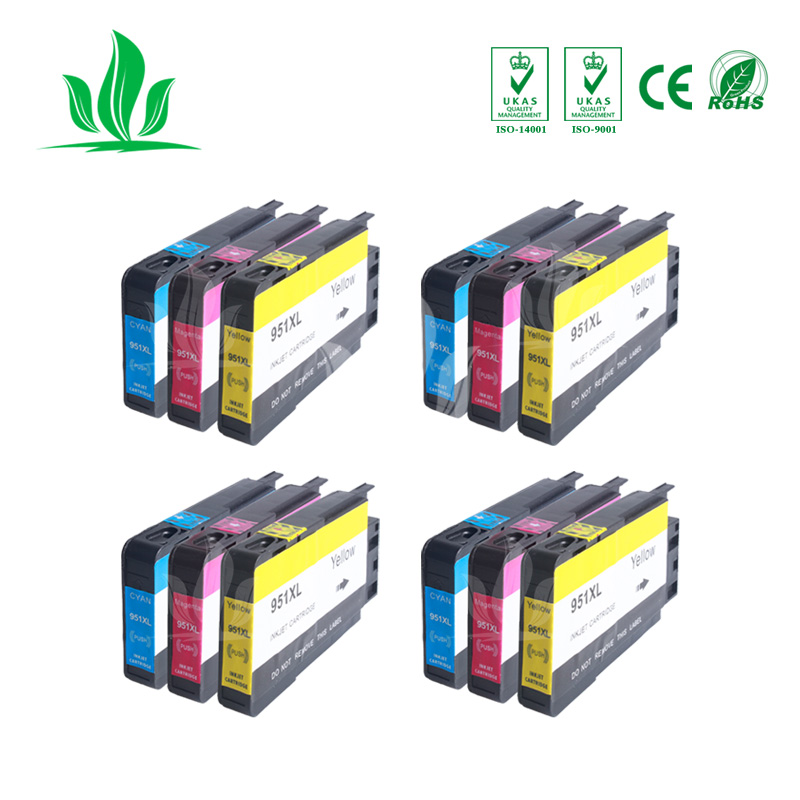 950XL 4XCMY Compatible For HP 950XL 950 Ink Cartridges Officejet Pro 8100 8600 8610 8615 8620 8625 251dw 276dw for HP950950XL 4XCMY Compatible For HP 950XL 950 Ink Cartridges Officejet Pro 8100 8600 8610 8615 8620 8625 251dw 276dw for HP950