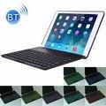 2 en 1 para ipad air 2 plegable ajustable (0-135 Grados) Funda protectora de la Tableta Soporte de Aleación De aluminio + Teclado Bluetooth