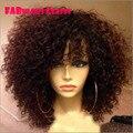 Высокая плотность полный парик шнурка для чернокожих женщин короткие шнурка человеческих волос парик фронта шнурка человеческих волос с волосами младенца 100 человеческих волос парик