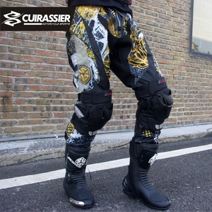 Image 5 - Motorcycle Knee Pads Guards Cuirassier Elbow Racing Off Road Protective Kneepad Motocross Brace Protector Motorbike Protection