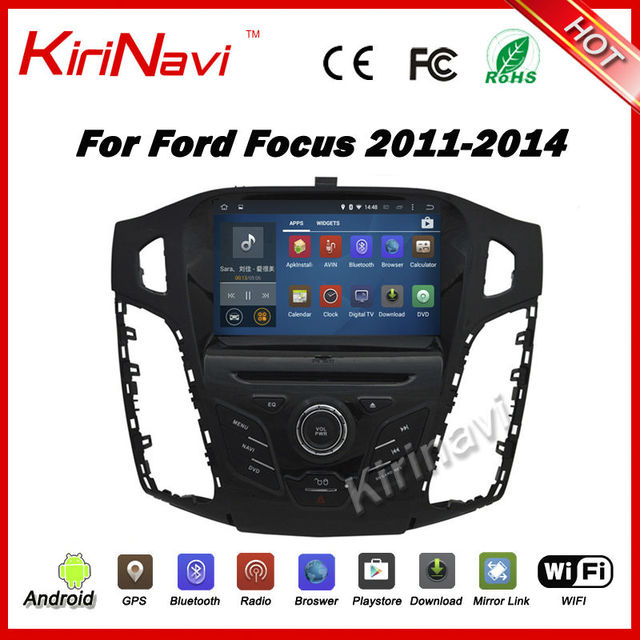 kirinavi android 7 1 car radio gps for ford focus 2012. Black Bedroom Furniture Sets. Home Design Ideas