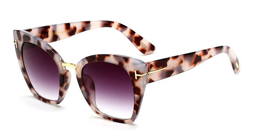 8107b911e5d Dropwow CCSPACE Lady Oversized Sunglasses For Women Cat Eye Brand ...