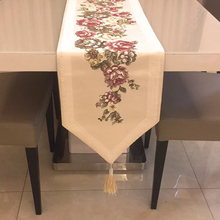 2019 New Europe Style High-end Table cloth Flag Shoes Cabinet Cover Cloth Modern Velvet Bed Runner Simple Color