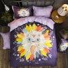 Noble 4pcs Bedding Set 100 Egyptian Cotton Duvet Quilt Covers Bedsheet Bedclothes Pillowcase King Queen Size
