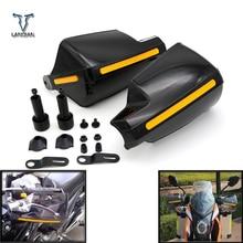 รถจักรยานยนต์Hand Guard Shieldป้องกันWindproofการปรับเปลี่ยนเกียร์ป้องกันสำหรับSuzuki GSXR600 750 Hornet 600 Shadow 750