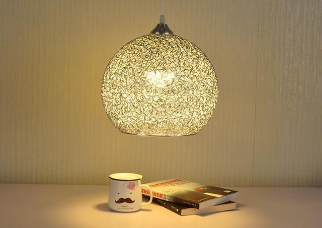 Moderne Mode Aluminium Hängende Lampe Wohnzimmer Kronleuchter Licht ...