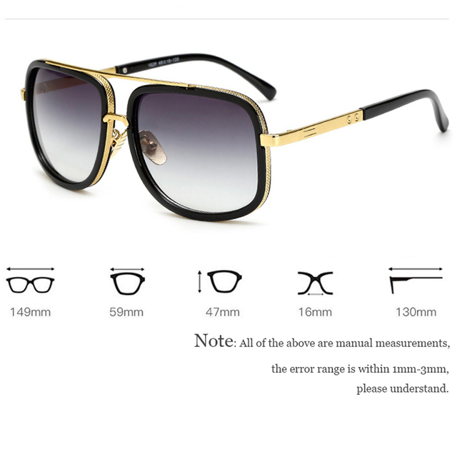 Square Retro Oversized Sunglasses  4
