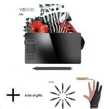 VEIKK A50 Graphics Drawing Tablet with 8192 Pressure Sensiti