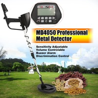 MD4050 Professional Portable Underground Metal Detector Handheld Treasure Hunter Gold Digger Finder LCD Display