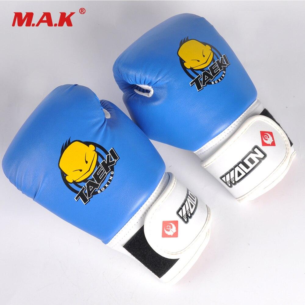 Hot Sale 1 Pair Kids Children Kickboxing Kick Box Training Punching Sports Fighting Golves Boxing Glove Hand Protector