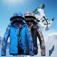 Men High Quality Ski Jacket Winter Warm Clothing Skiing Snowboard Coat Outdoor Sports Jackets Windproof Waterproof Winter Wear