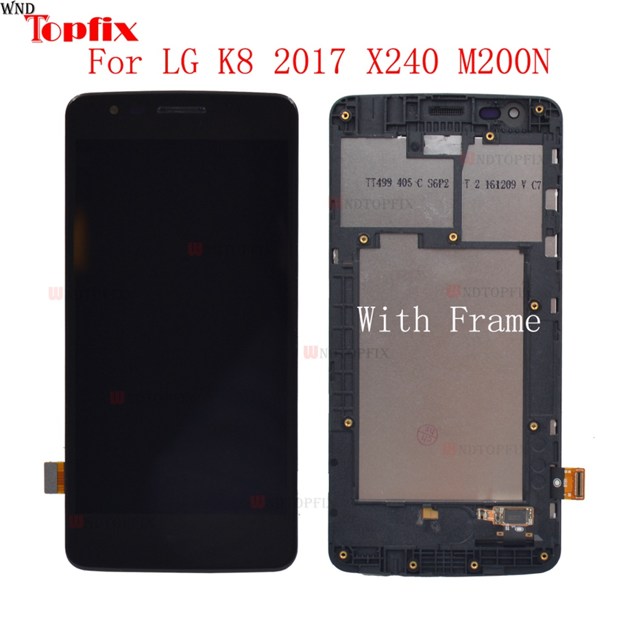 For <font><b>LG</b></font> K8 2017 Display <font><b>X240</b></font> <font><b>LCD</b></font> Touch Screen Digitizer Assembly X240H US215 for <font><b>LG</b></font> K8 2017 <font><b>X240</b></font> <font><b>LCD</b></font> Screen Replacement image