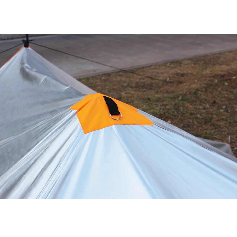 Новый Сверхлегкий портативный водонепроницаемый солнцезащитный экран негабаритный открытый переносной навес треугольник небо экран Пляжная палатка для пикника пешего туризма