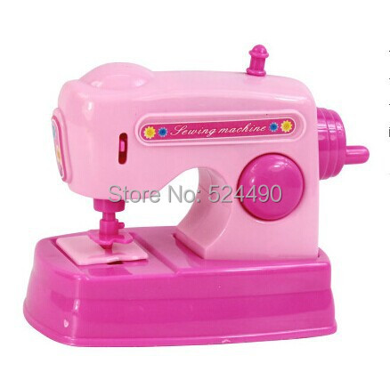 Emulation mini sewing machine baby toy simulation for Machine a coudre king jouet