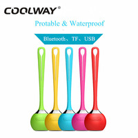 COOLWAY Boombox Portable Bluetooth Speaker Support AUX USB SD TF Card Soundbar Loudspeaker Speakers For IPhone