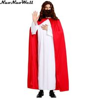 Sexy Halloween Jesus Apparel Cosplay Costume Women's Adult Maria Cloak Game Clock for Performance Wear