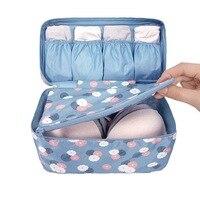 Portátil Plus Size Viagem Divisores de Gaveta Closet Organizadores Underwear Bra Saco De Armazenamento Recipiente 28x14x14.5 cm CP0971